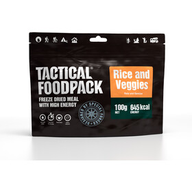 Tactical Foodpack Freeze Dried Måltid 100 g, Rice and Veggies